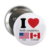 "USA-CANADA 2.25"" Button (10 pack)"