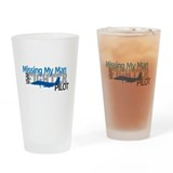 USAF Fighter Pilot Pint Glass