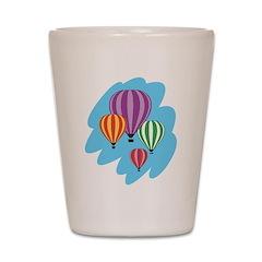 Hot Air Balloons Shot Glass