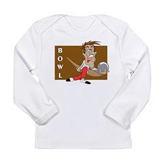 Bowling Long Sleeve Infant T-Shirt