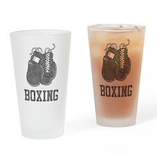 Vintage Boxing Pint Glass