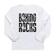 Boxing Rocks Long Sleeve Infant T-Shirt