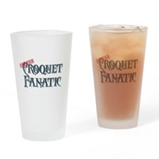 Croquet Fanatic Pint Glass