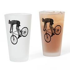 Cycling Pint Glass