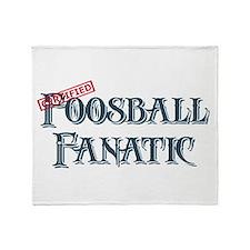 Foosball Fanatic Throw Blanket