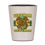 Vietnam Veteran Shot Glass