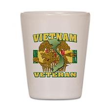 Vietnam Veteran Shot Glass