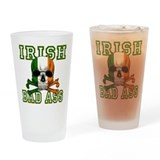 Irish Bad Ass Pint Glass