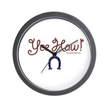 Yee Haw! Wall Clock