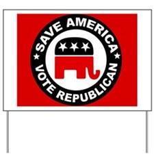 SAVE AMERICA Yard Sign