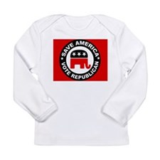SAVE AMERICA Long Sleeve Infant T-Shirt