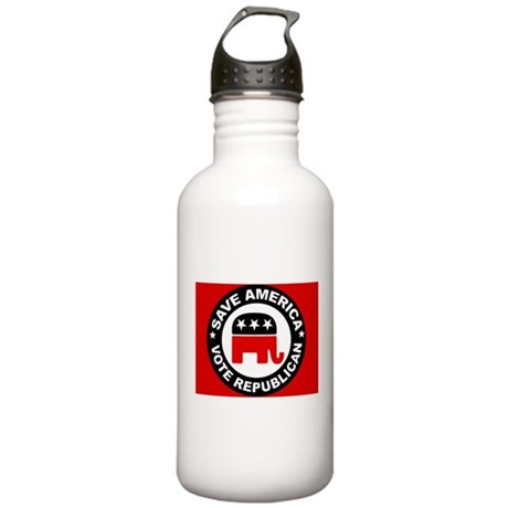 SAVE AMERICA Stainless Water Bottle 1.0L