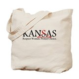 Pro Choice Kansas Tote Bag