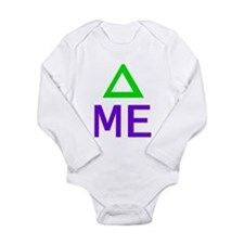 Change Me Math Long Sleeve Infant Bodysuit