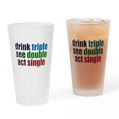 Drinking Joke Drinking Glass