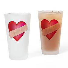 Healing Heart Pint Glass