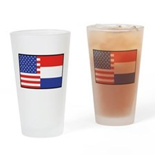 USA/Holland Pint Glass
