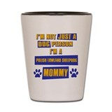 Polish Lowland Sheepdog Mommy Shot Glass