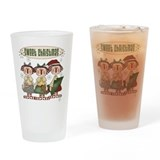 Ragdoll Christmas Pint Glass