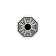 Dharma Octagon Symbol Mini Button (100 pack)