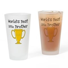 World's Best Little Brother Pint Glass