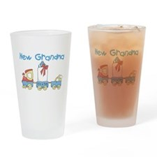 Train New Grandma Pint Glass