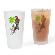 Parrot Tropical Cruise Pint Glass