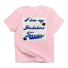 Cute Personalized yorkie Infant T-Shirt
