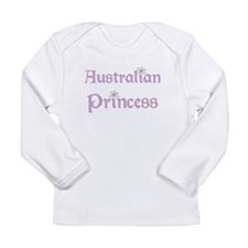 Australian Princess Long Sleeve Infant T-Shirt
