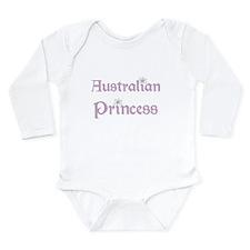 Australian Princess Long Sleeve Infant Bodysuit