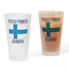 Finnish Grandma Pint Glass