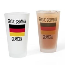 Proud German Grandpa Pint Glass