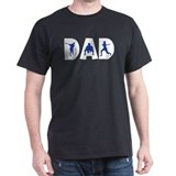 Baseball Dad Black T-Shirt