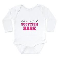 Scottish Babe Long Sleeve Infant Bodysuit