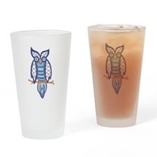 Lace Owl Pint Glass