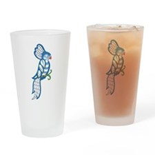 Lace Cockatiel Pint Glass