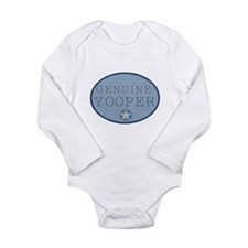 Genuine Yooper Long Sleeve Infant Bodysuit