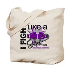 Fight Like A Girl Fibromyalgia Tote Bag
