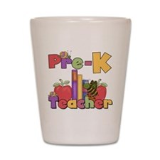 Pre-K Teacher Shot Glass