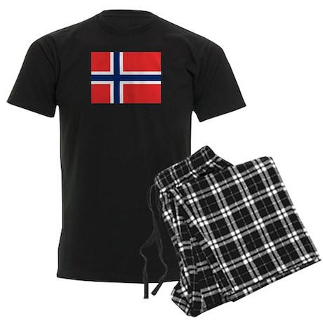 Norwegian Pride Men's Dark Pajamas