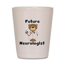 Future Neurologist Shot Glass