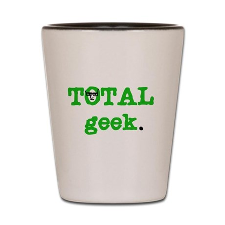 Total Geek Shot Glass
