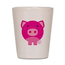Pink Pig Shot Glass