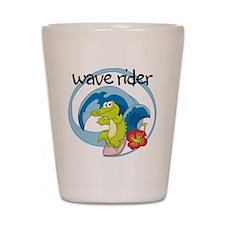 Wave Rider Shot Glass