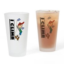 Mountain Climbing Pint Glass