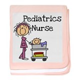 Pediatrics Nurse baby blanket