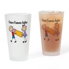 Future Famous Author Pint Glass