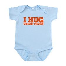 I Hug Union Thugs Onesie