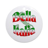 Bella Italia Ornament (Round)