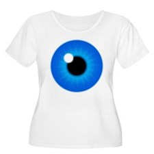 Blue Eye Iris and Pupil T-Shirt